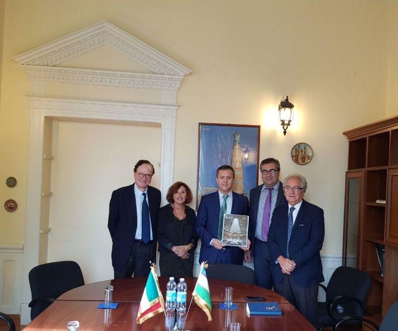 Incontro con il nuovo Ambasciatore Uzbeko